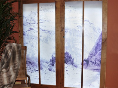 living room shoji screen