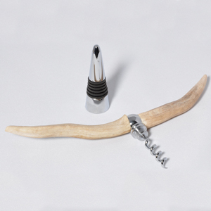 Dear antler bottle stopper